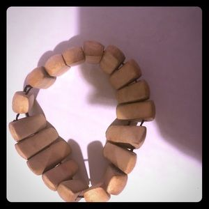 Stretchy Wooden Braclet